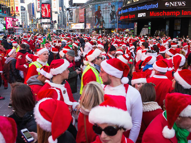Five fun alternatives to SantaCon this weekend