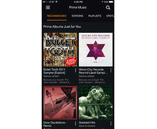 Best curated catalog: Amazon Music