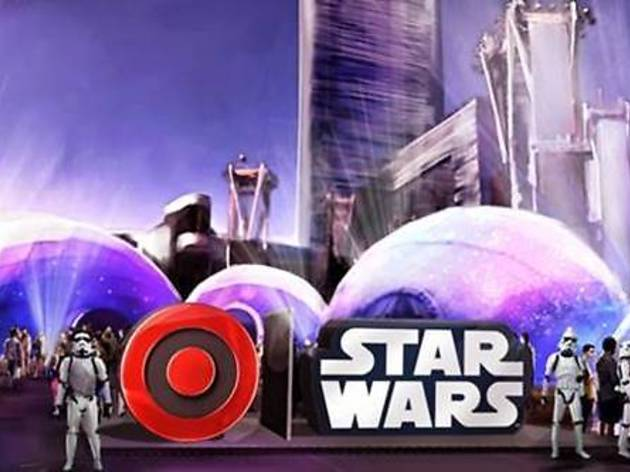 Target & Star Wars Galactic Experience at L.A. LIVE