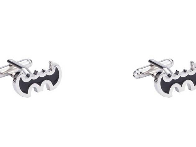 For dad: Batman cufflinks