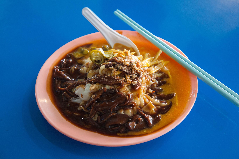 Mushroom Curry Chee Cheong Fun