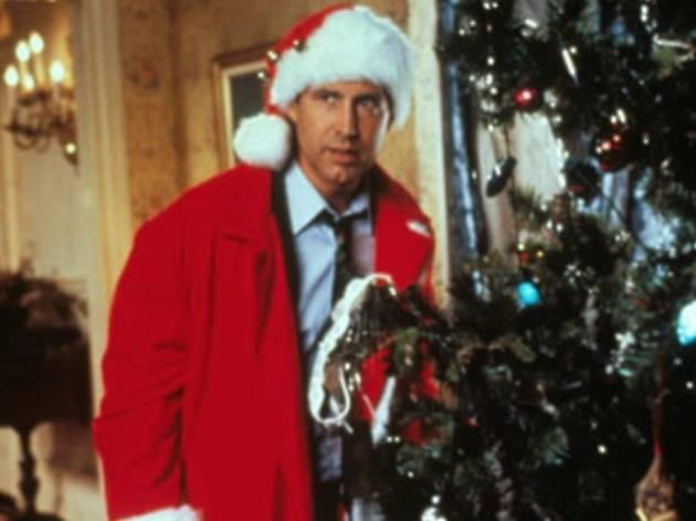 National Lampoon's Christmas Vacation + Scrooged double feature