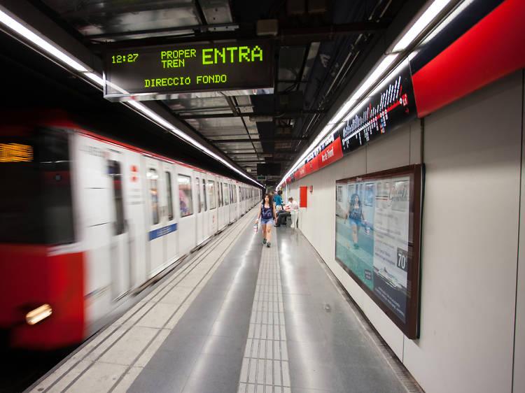 El metro obrirà tota la nit durant la revetlla de Sant Joan