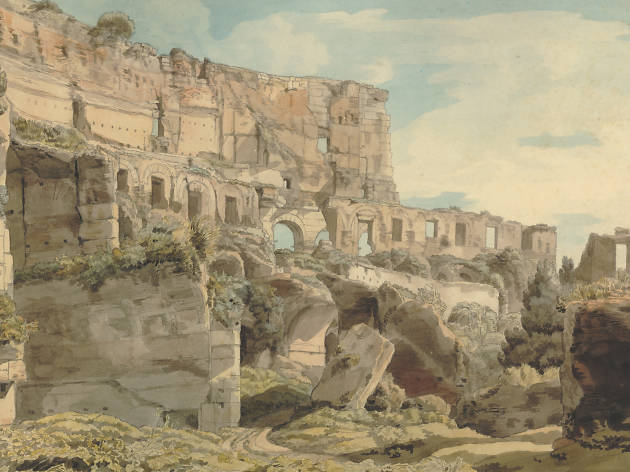 Francis Towne (1739-1816),  Inside the Colosseum ,  1780