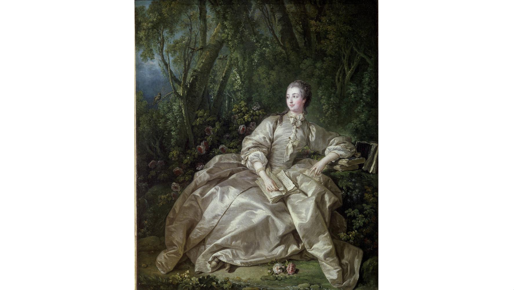 'Madame de Pompadour', 1758, by François Boucher