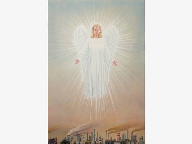 (Jim Shaw, 'The Angel of the chemical plant', 2015)