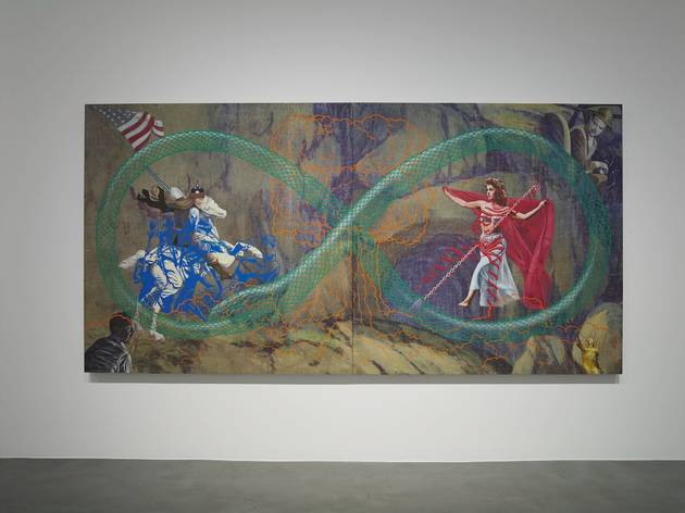 (Jim Shaw, 'St. George and the Dragon', 2015)