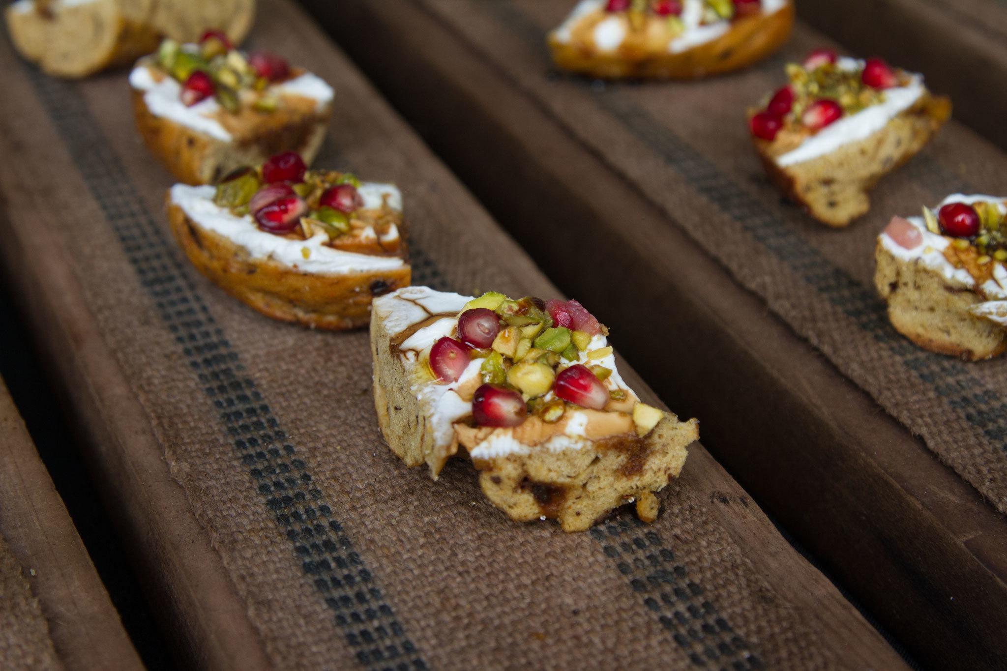 Ras el Hanout bagel at Belle's Bagels