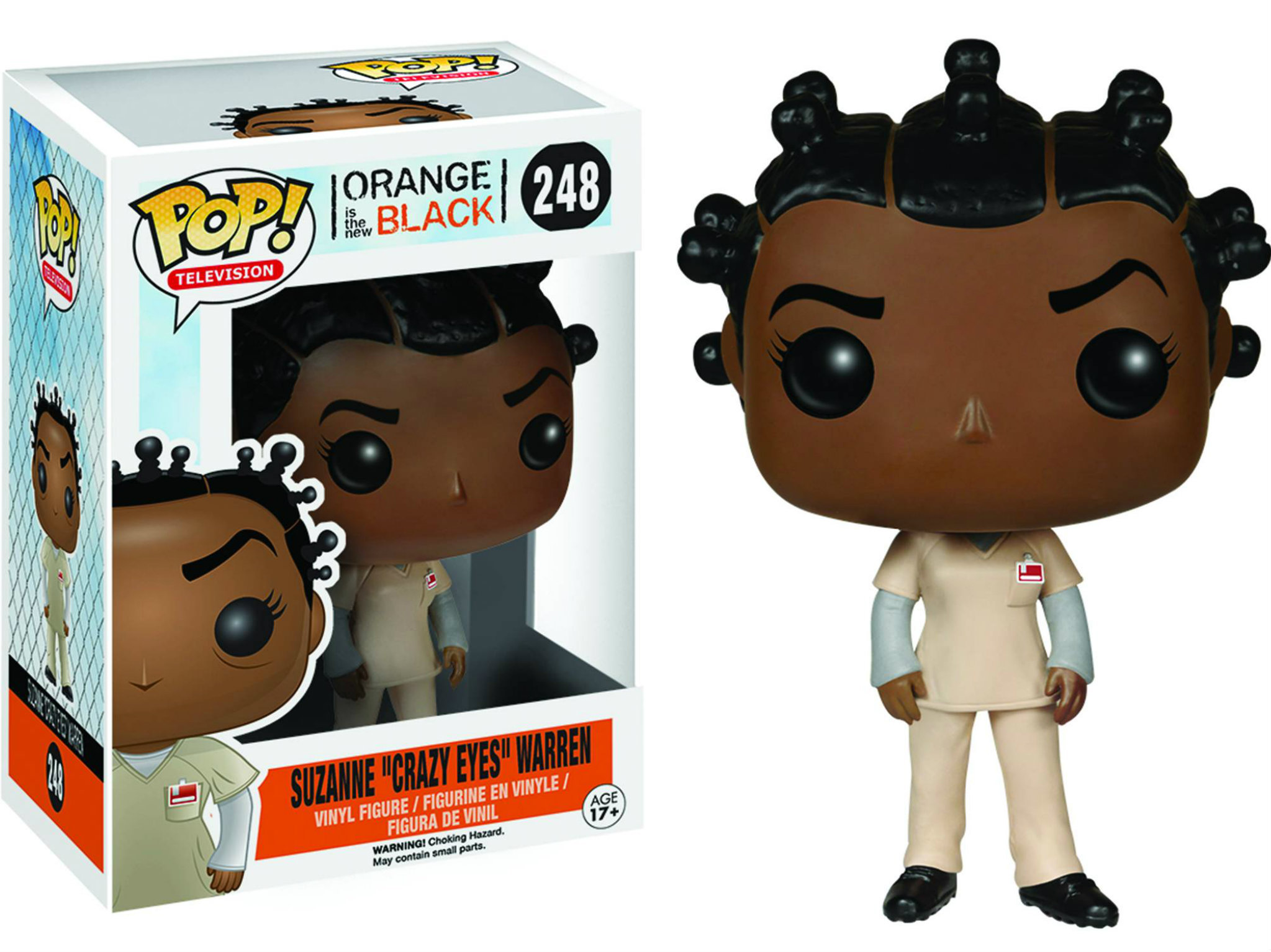 Funko de Crazy Eyes, de Orange is the New Black