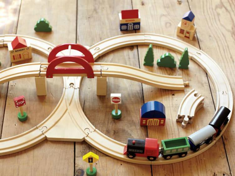 Set de trenes a escala