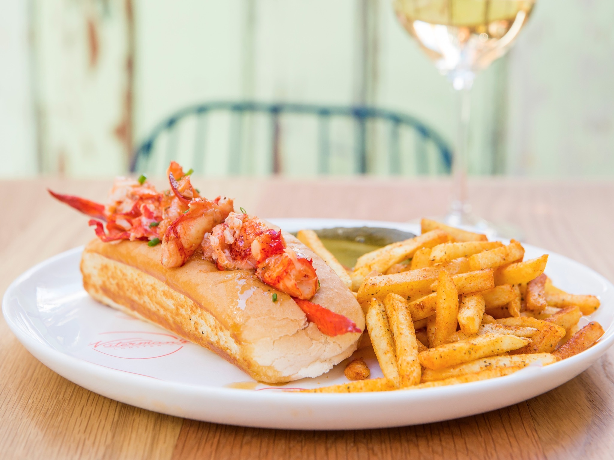 The Connecticut lobster roll from Waterman's Lobster Co