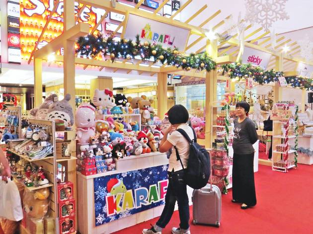 Tokyo Street Christmas market