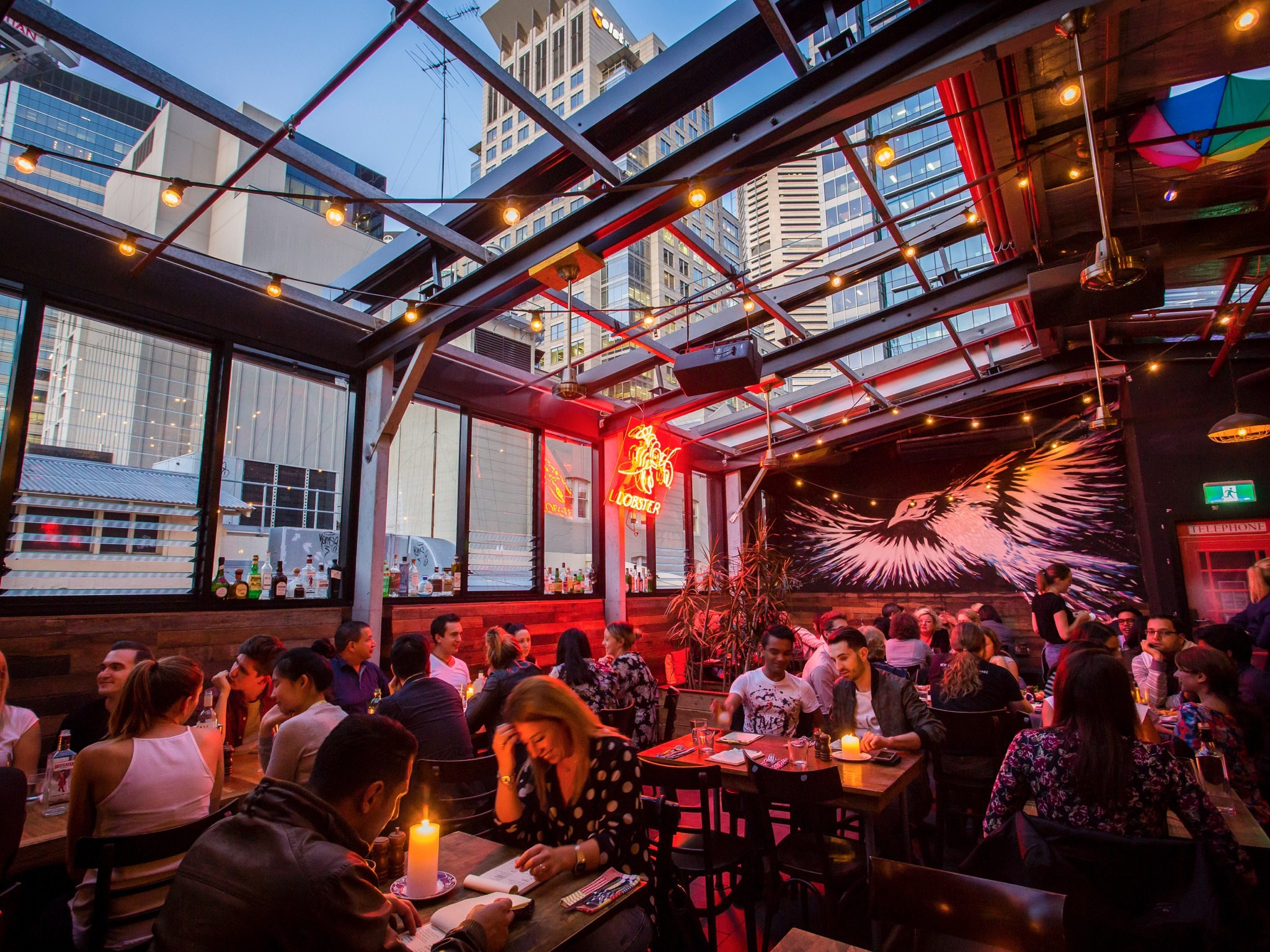 Sydney rooftop bars to see the city from every angle 5why for Food bar sydney
