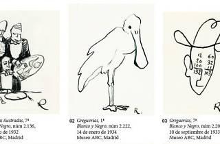 """Ramón: """"Con la pluma del escritor están hechos estos dibujos..."""""""
