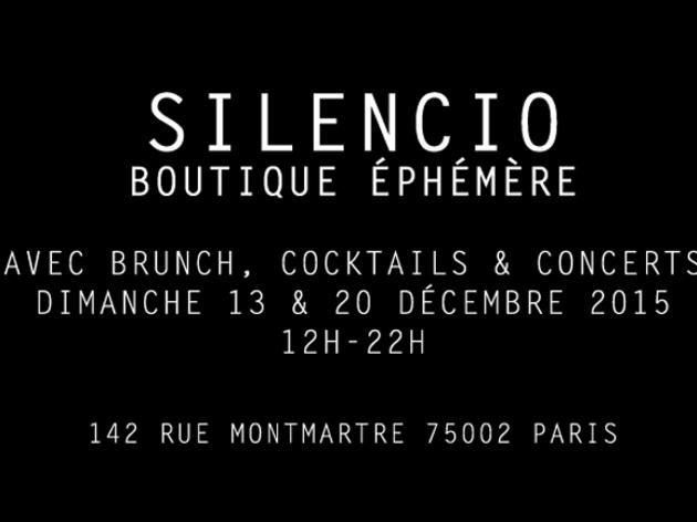 La boutique éphémère du Silencio