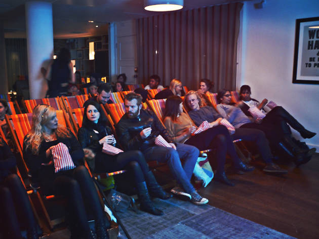 Merry Movies at The Hoxton Hotel