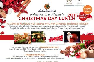 Celebrate Christmas at Labadi Beach Hotel
