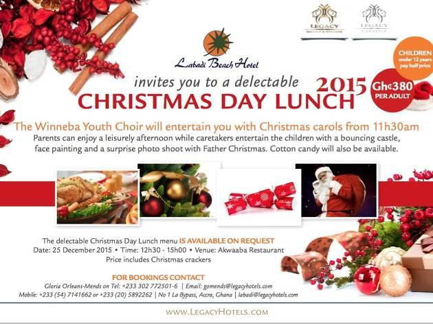 Celebrate Christmas at Labadi Beach Hotel