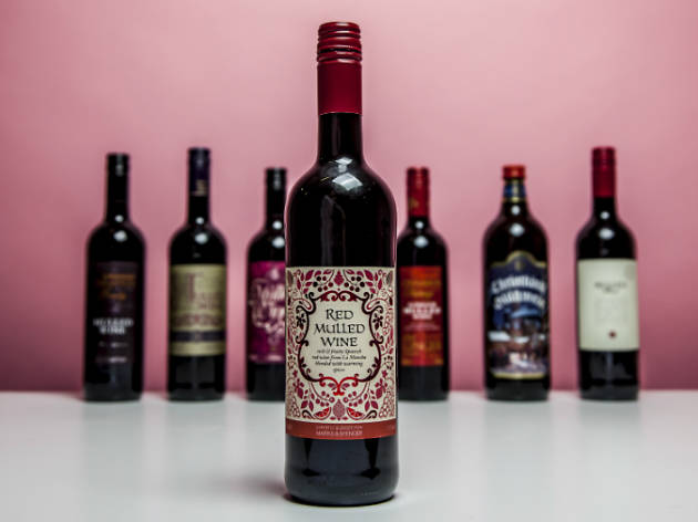 M&S Red Mulled Wine
