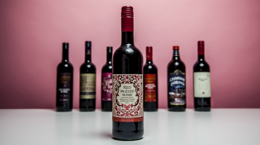 M&S Red Mulled Wine 2015