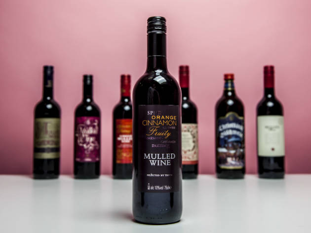 Tesco Mulled Wine 2015