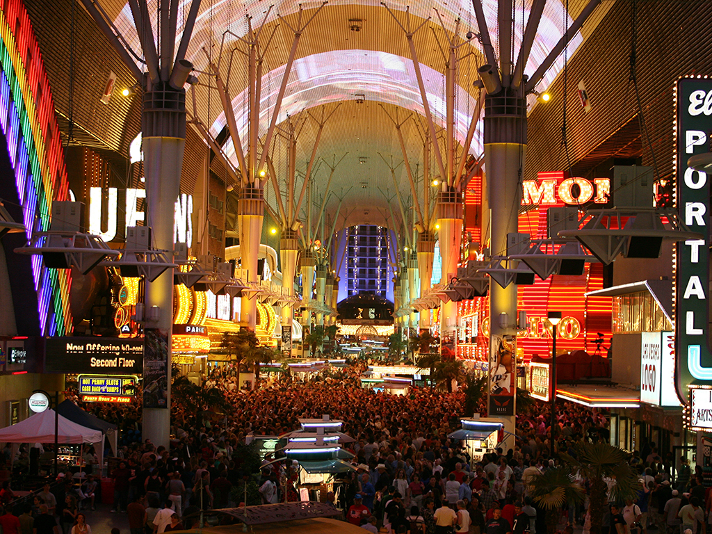 Downtown Countdown at Fremont Street Experience