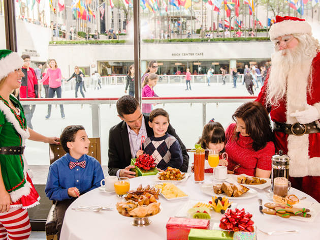 Where to have breakfast with Santa in New York City