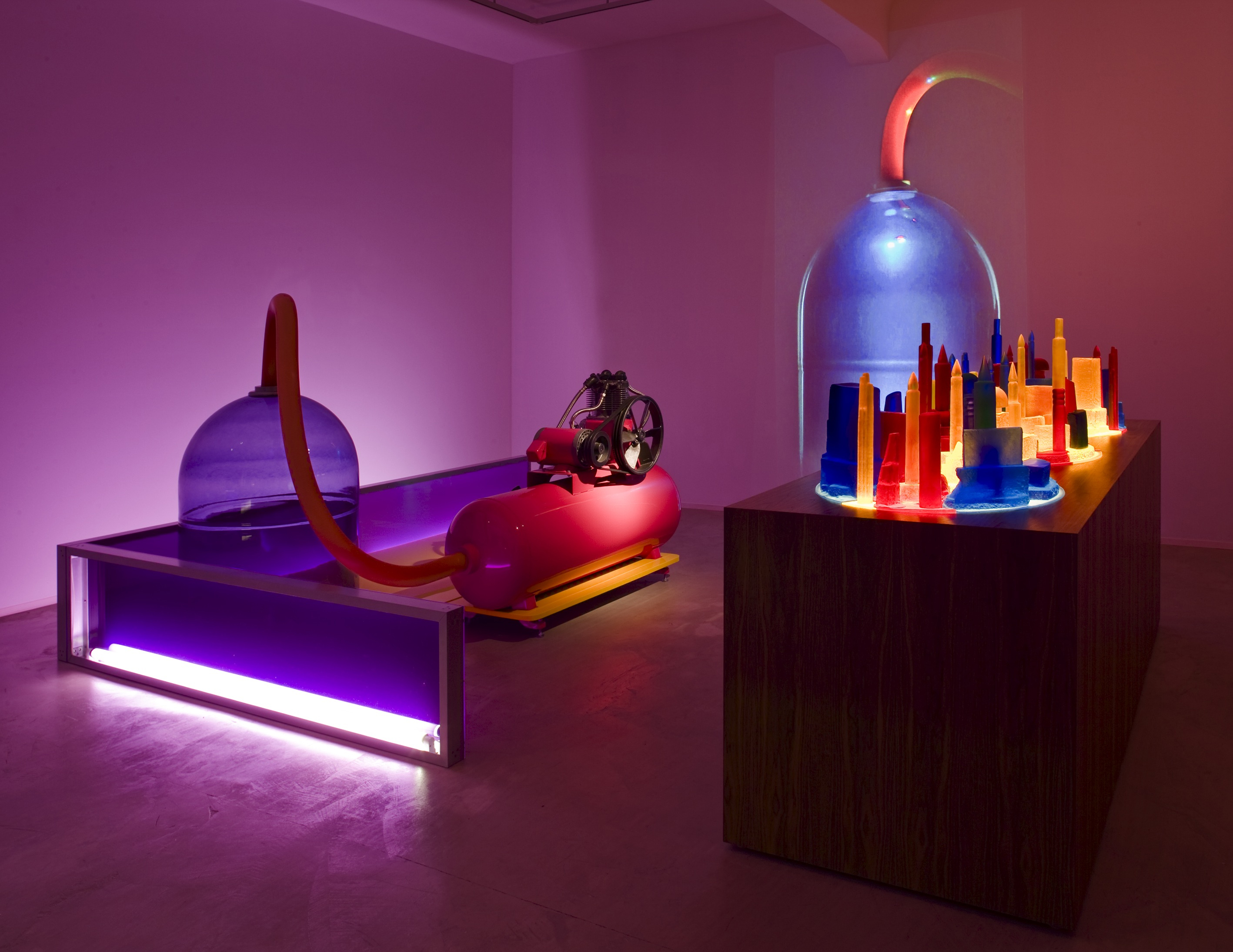 Mike Kelley, Kandor 4, 2007