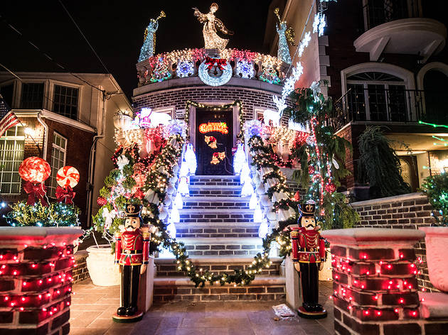 Scope out some seriously awesome holiday decorations