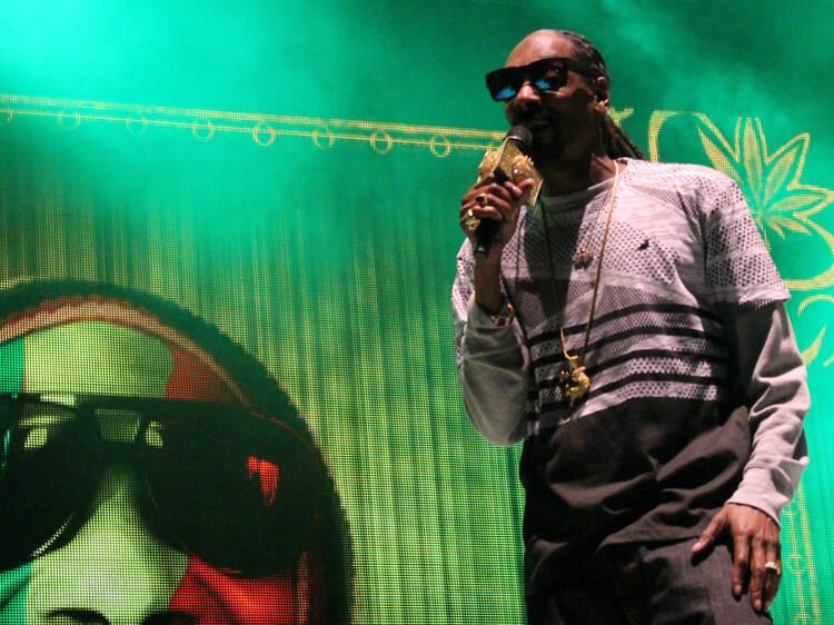 Snoop Dog en Ceremonia