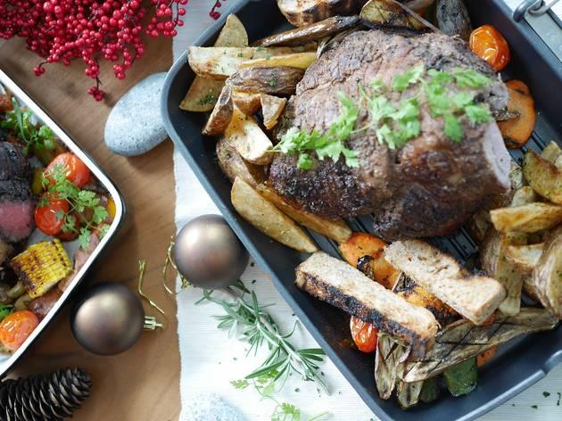 Closer Kitchen & Espresso Bar Christmas buffet