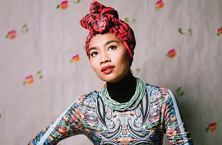 Yuna live at Sunway Putra Mall