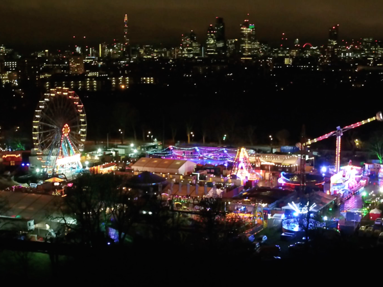 Video: a drone's-eye-view of London at Christmas