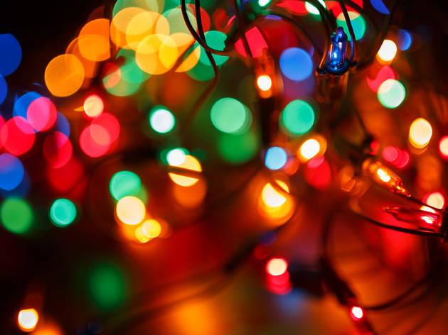 North Kensico Christmas Light Show