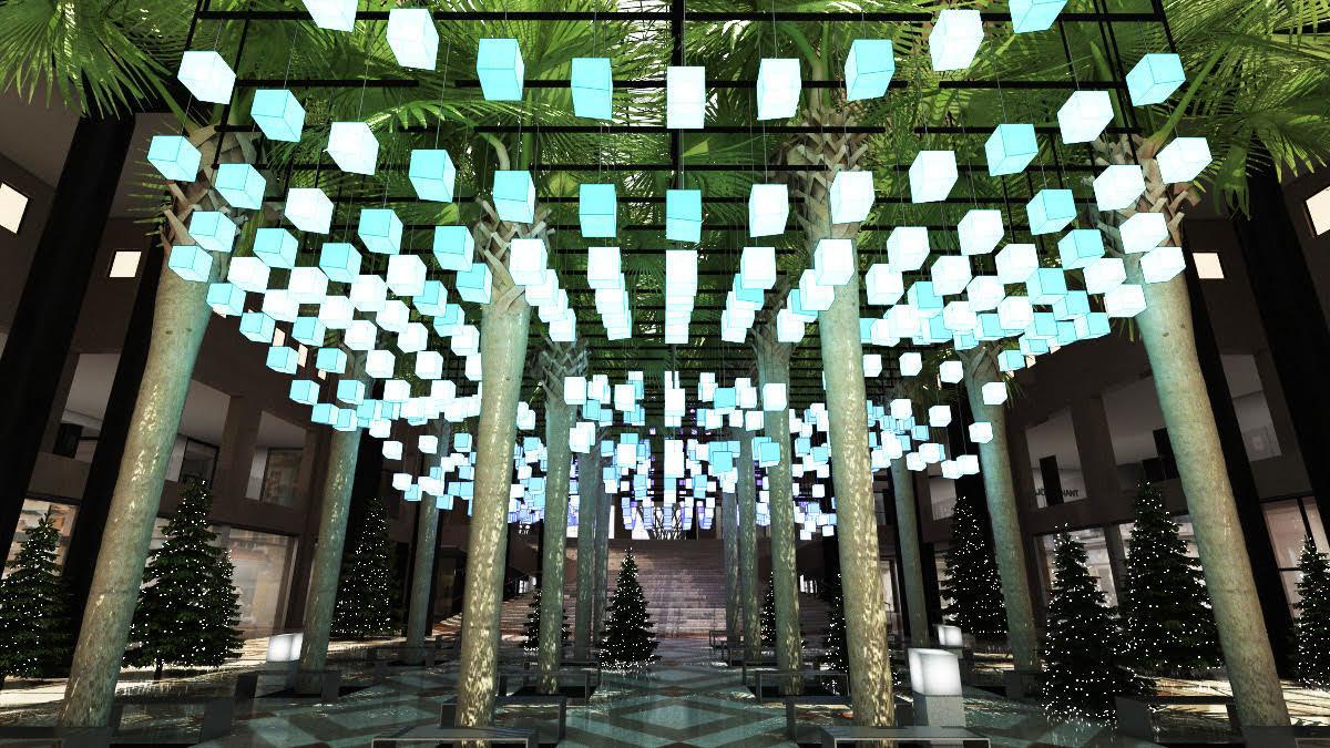 Luminaries at Brookfield Place Winter Garden