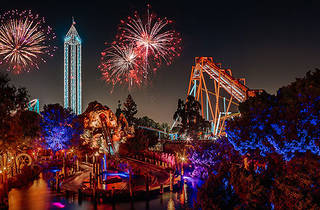 New Year's Eve at Knott's Merry Farm