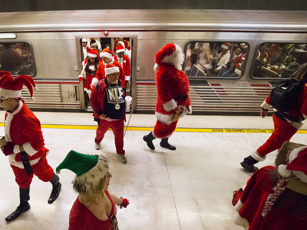 SantaCon is a holly jolly good time in Los Angeles