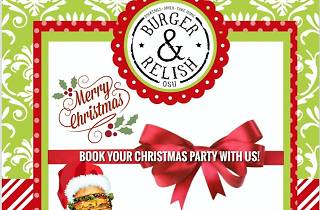 Burger & Relish, Christmas parties, Lunches, Accra, Ghana