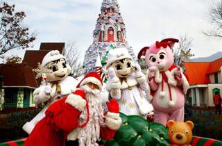 Christmas Party at Seoul Land