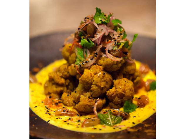 Drift dining and bar spiced cauliflower