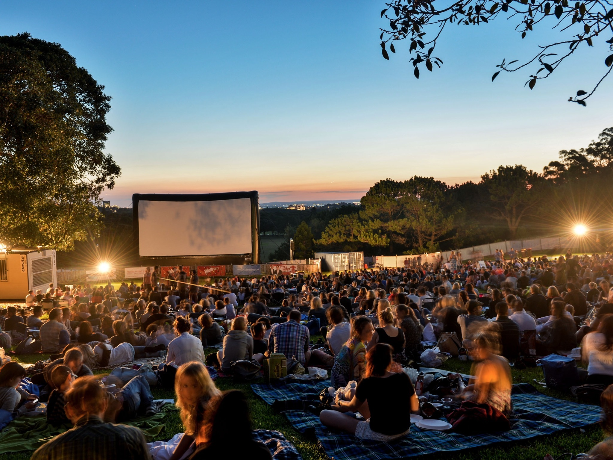 Outdoor cinemas in Sydney