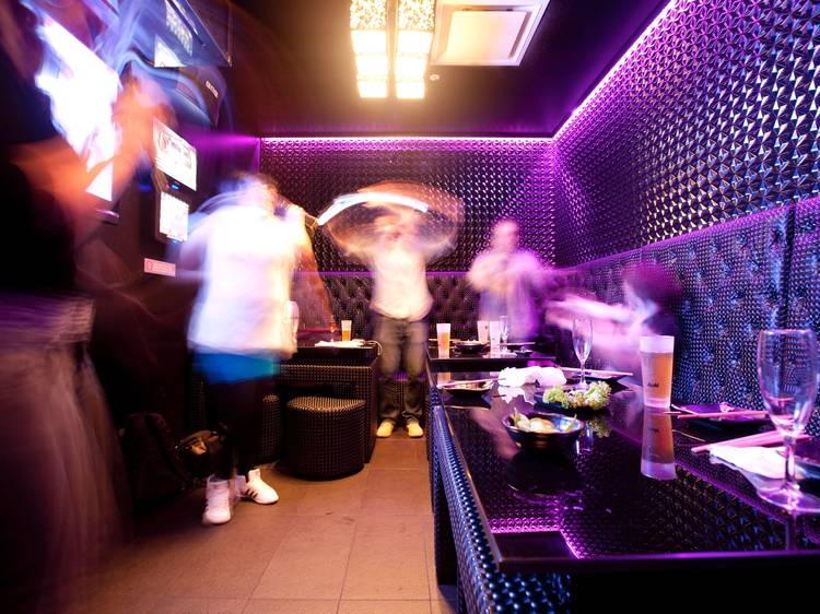 Karaoke bars in Chinatown