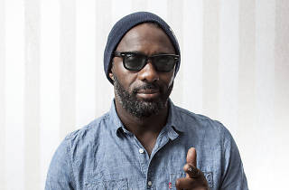 Idris Elba talks music, 'Luther' and living in a caravan