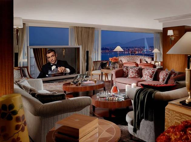 President Wilson Hotel's Royal Penthouse Suite