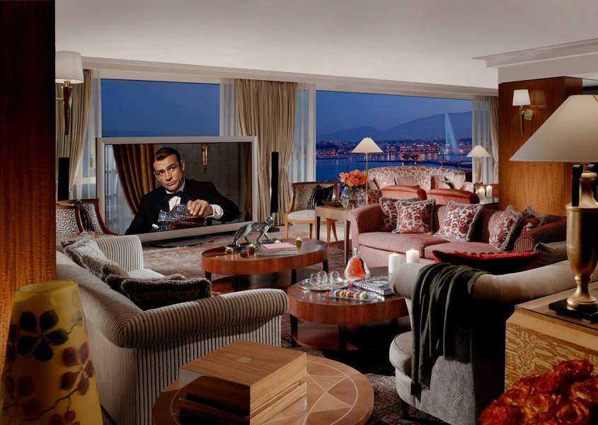 The most expensive hotel room in the world is in Geneva