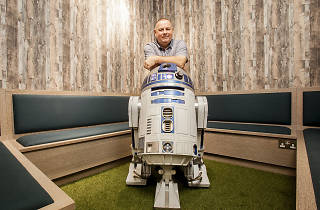 R2-D2 lives in my lounge: Simon Battell