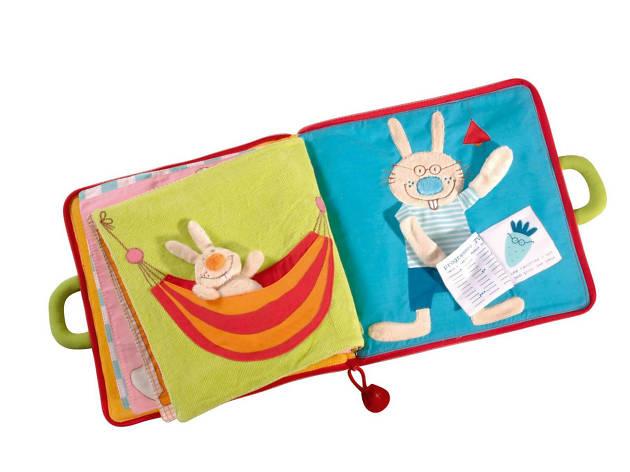 Libro de tela para bebe