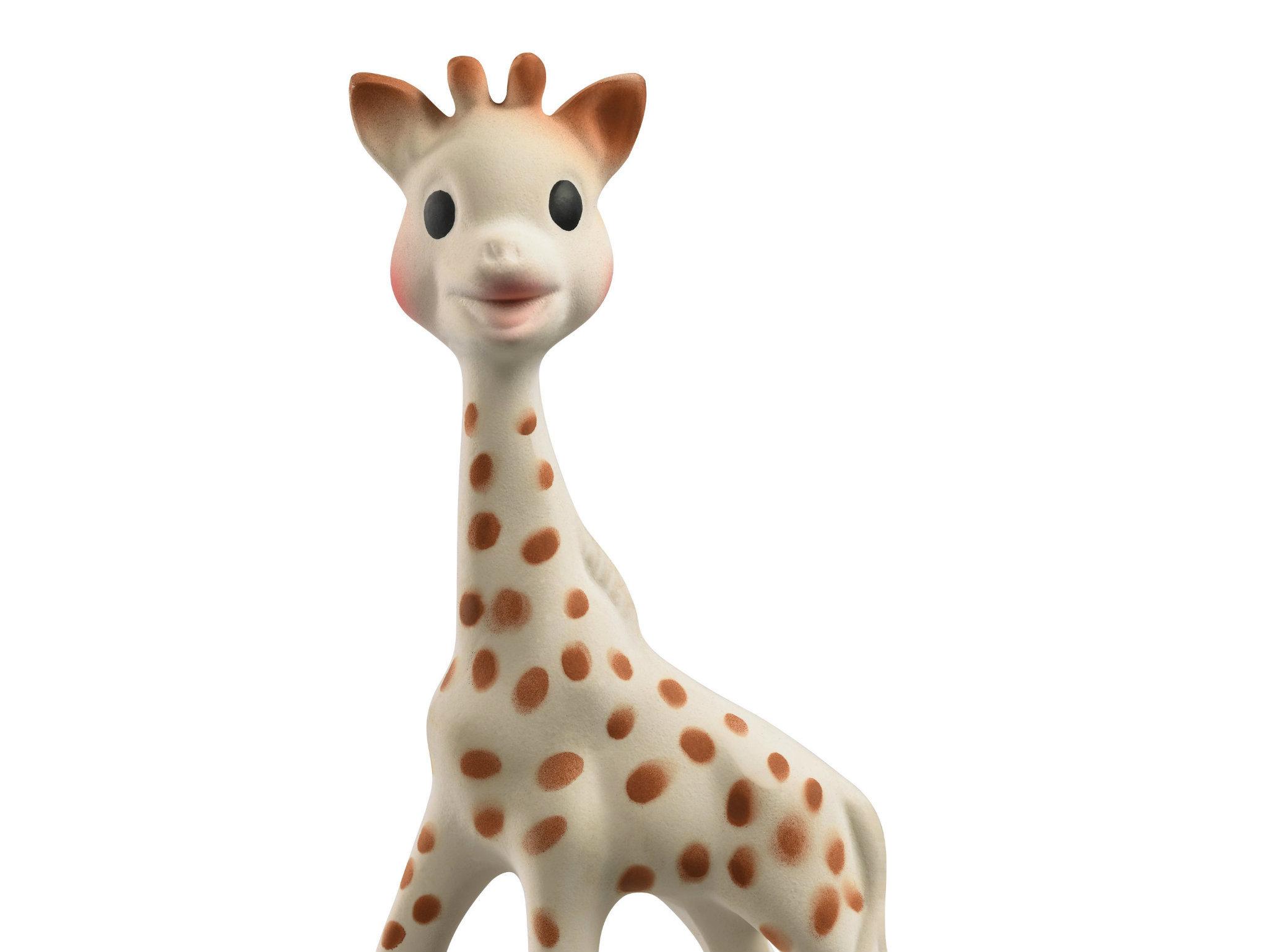 La jirafa Sophie para bebe
