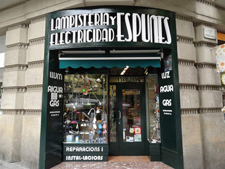 Lampistería y Electricidad Espuñes