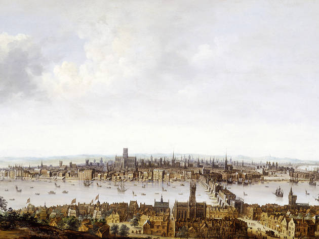 London from Southwark, the Museum of London
